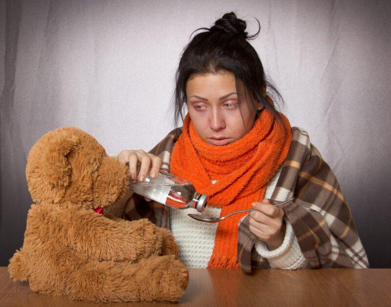 Niebezpieczne powikłania po grypie