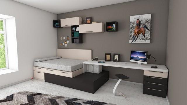 Urządzenie małego pokoju w bloku